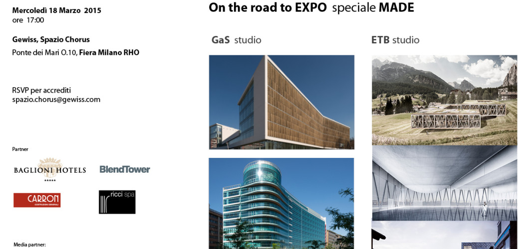 On the road to Expo_Exposynergy incontra People of Architecture
