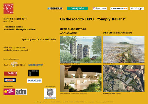 "On the road to Expo_""Simply Italians"""
